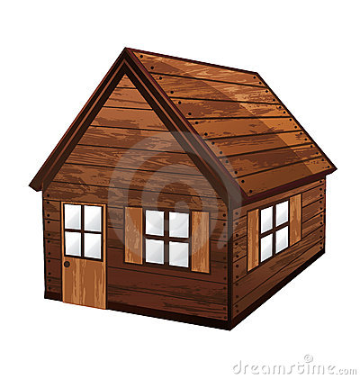Free Wooden House Royalty Free Stock Image - 16483906