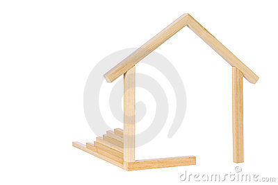 Wooden House Symbol