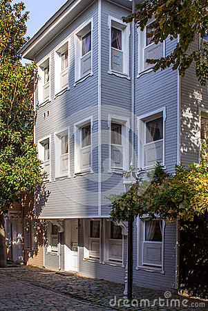 Free Wooden Houses In Istanbul Stock Photos - 36171533