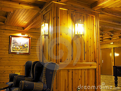 Wooden indoor