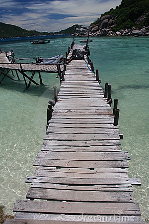 Wooden Jetty