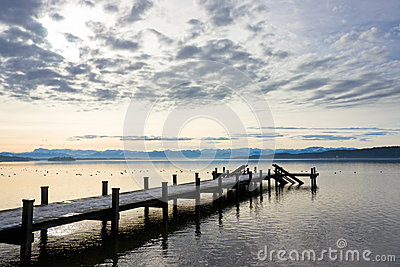 Wooden Jetty Royalty Free Stock Photos - Image: 28376008