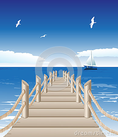 Free Wooden Jetty Royalty Free Stock Photos - 30732718
