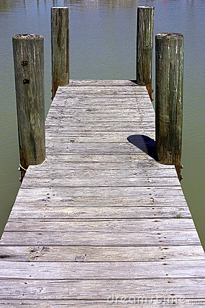 Free Wooden Jetty Stock Photography - 316152