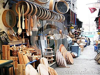 Wooden kitchen tools