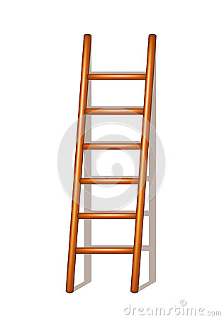 Free Wooden Ladder Stock Photography - 25729752