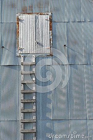 Wooden Ladder Grunge