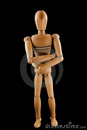 Free Wooden Man With Crossed Arms Royalty Free Stock Photo - 6582675