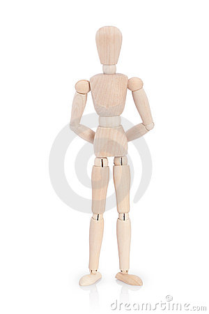 Free Wooden Mannequin Royalty Free Stock Photos - 15074158