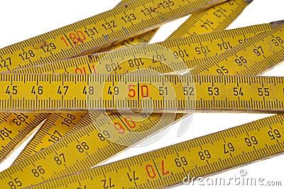 Wooden meter