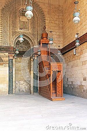 Wooden Minbar