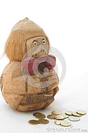 wooden monkey bank