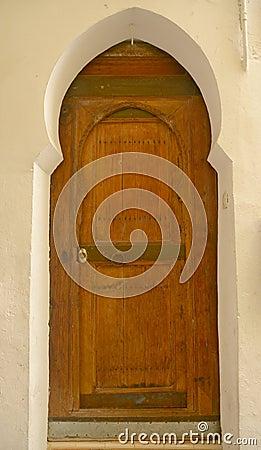 Wooden Moroccan door
