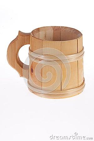 Free Wooden Mug Stock Image - 12167851