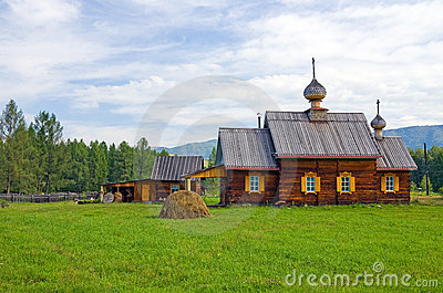 Wooden orthodox church