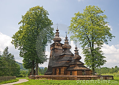Wooden Orthodox Church in Poland