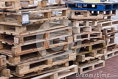 Wooden pallets