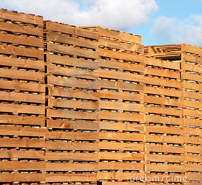 Free Wooden Pallets Stock Image - 724091