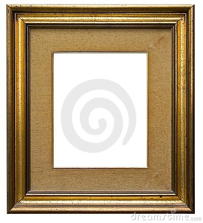 Free Wooden Picture Frame Royalty Free Stock Photo - 688565