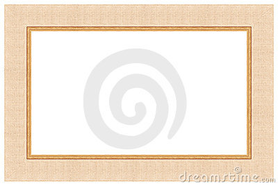 Wooden picture frame 7 Stock Photo