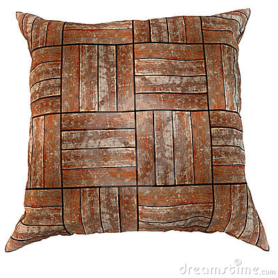 Wooden pillow