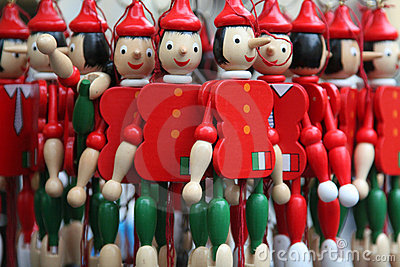 Wooden Pinocchios