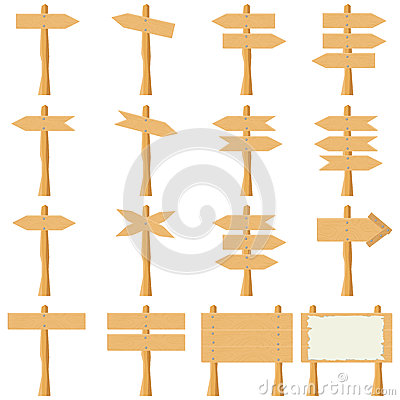 Free Wooden Plank-pointers Stock Photography - 88430152