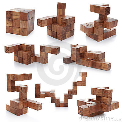 Free Wooden Puzzle Stock Image - 20332471