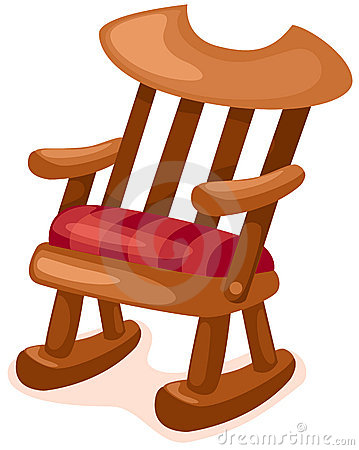 Free Wooden Rocking Chair Royalty Free Stock Photos - 14906948