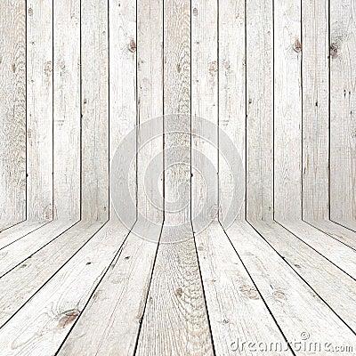 Wooden room background