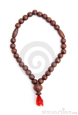 Free Wooden Rosary Stock Images - 18582154