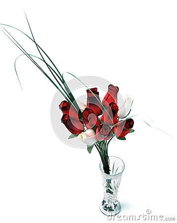 Wooden Rose Bouquet