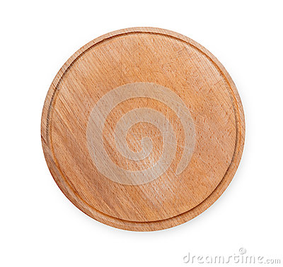 Free Wooden Round Board For Pizza Isolated On White Royalty Free Stock Photo - 88406255