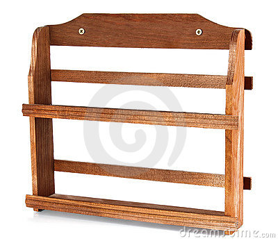 Wooden shelf for spice