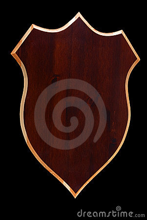Free Wooden Shield Royalty Free Stock Photos - 11712318