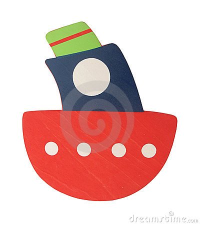 Wooden Ship Toy For Kids Royalty Free Stock Images - Image ...