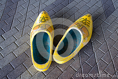 Wooden shoes. Holland, Netherlands.