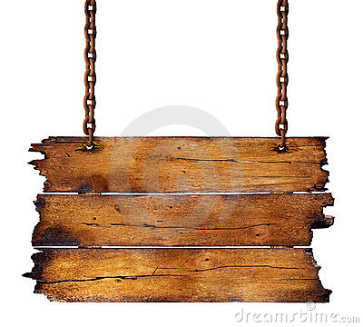 Free Wooden Sign Royalty Free Stock Image - 15552756