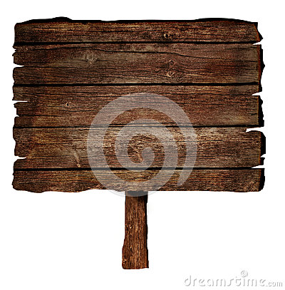 Free Wooden Sign Royalty Free Stock Image - 26333196