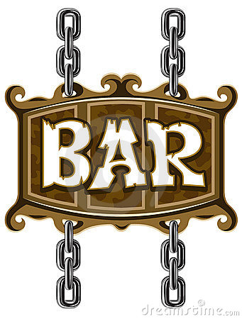 Free Wooden Sign For Beer Pub Or Bar Stock Photo - 10332710
