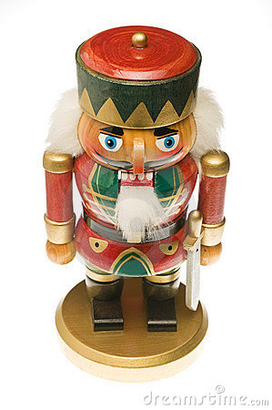 Wooden soldier Christmas nutcracker