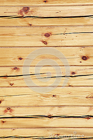 Wooden squared beam