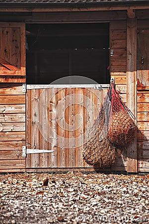 Wooden Stable Doort