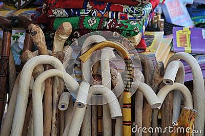 Wooden staff