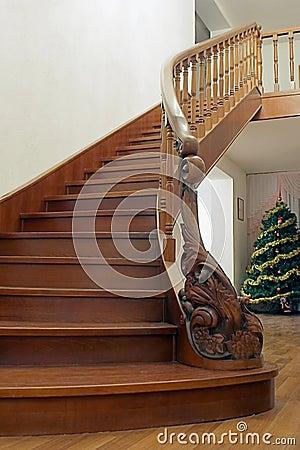 Free Wooden Stairway Stock Photo - 2966840