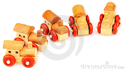 Wooden steam-engines