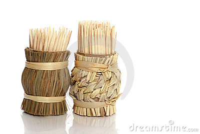 Wooden sticks for cleaning of teeth