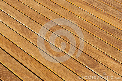 Wooden table floor