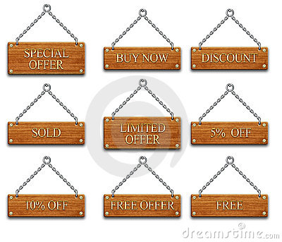 Wooden tag set2