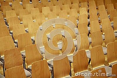Wooden Theater Seats